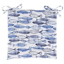 Pernă de scaun Fish matlasată, 40 x 40 cm