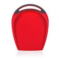Banquet Műanyag vágódeszka 32 x 25 cm, piros