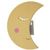 Dziecięca lampka nocna LED Księżyc, 34 x 22 x 11 cm