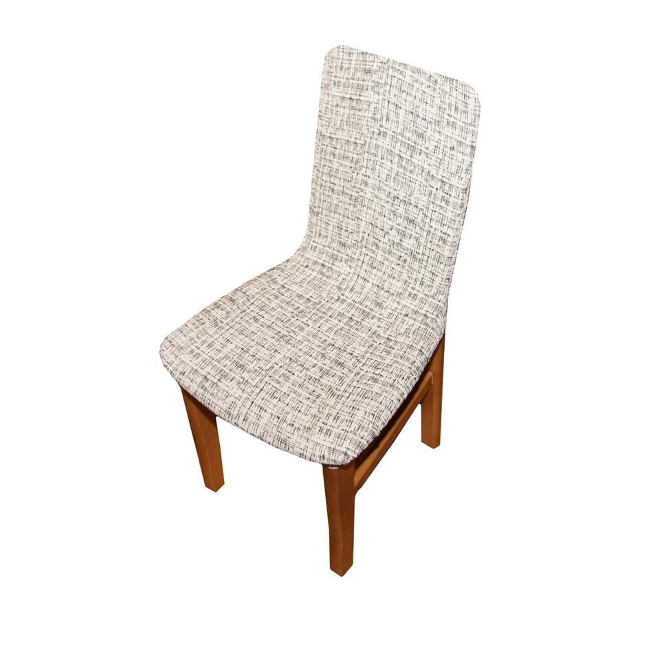 Forbyt Potah Andrea na židli bílo-černá