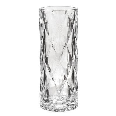 Altom Skleněná váza Rose, 19,8 cm