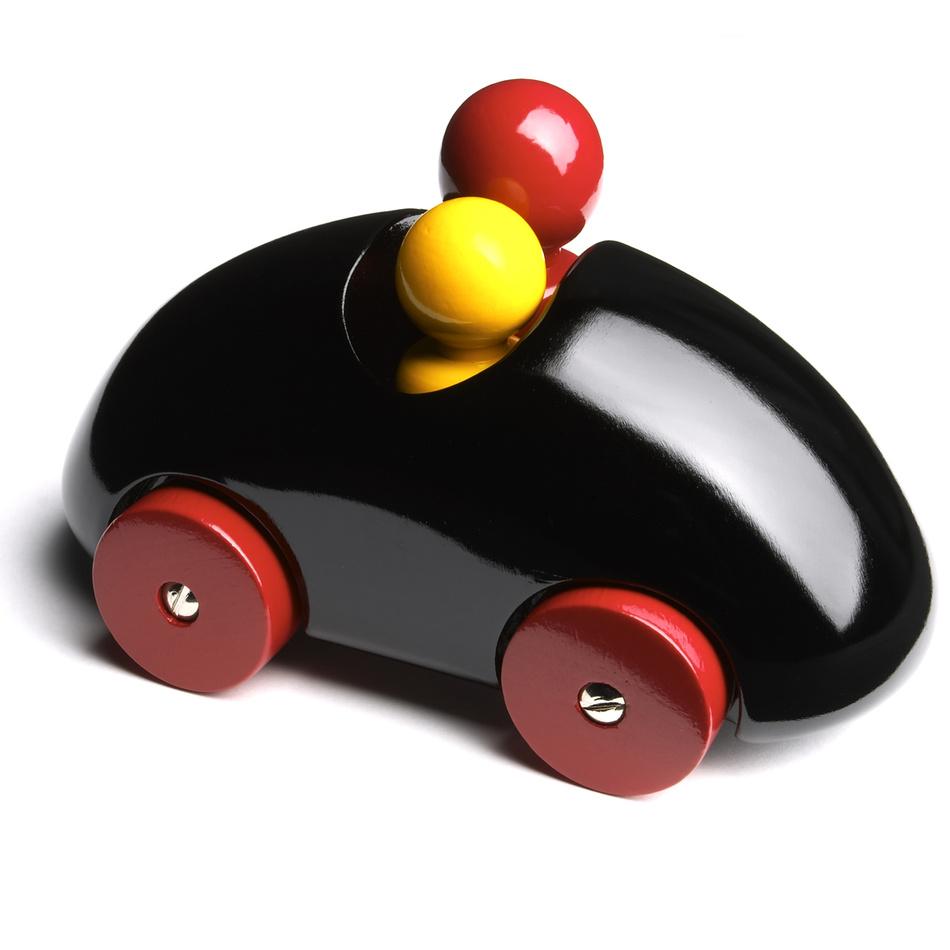 Playsam Auto Streamliner Rally 13,5 cm čierne