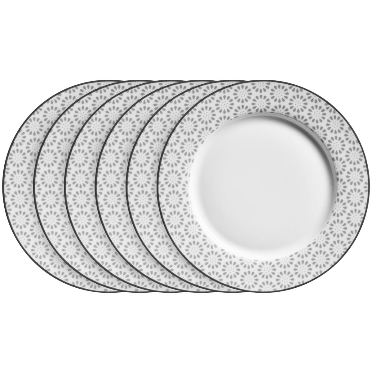 Mäser Sada plytkých tanierov ORNATE 27 cm, 6 ks
