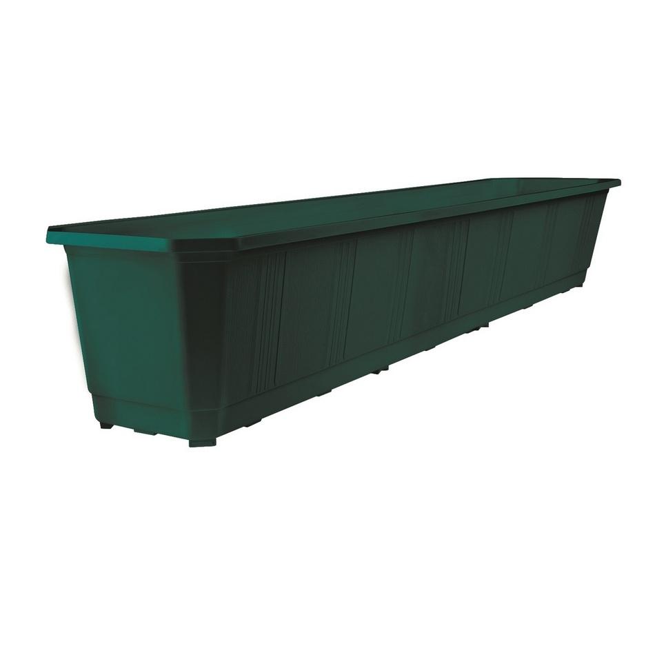 KETER BALCONY PLANTER 80 truhlík, tmavě zelená