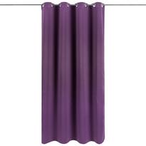 Draperie Arwen violet, 140 x 245 cm