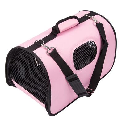 Transportná taška na domáceho maznáčika, ružová
