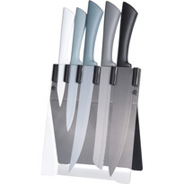 5-dielna sada nožov v stojane