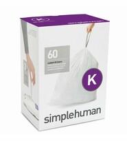 Simplehuman Vrecia do odpadkového koša K 35-45 l, 60 ks