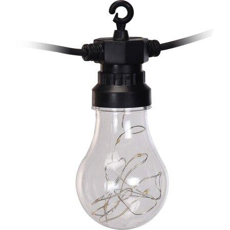 Svetelná reťaz Bulbs, 80 LED