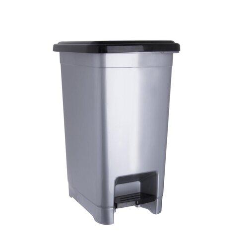 Coș de gunoi Orion Slim, cu pedală, 25 l