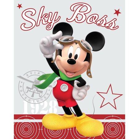Dětská deka Mickey, 120 x 150 cm