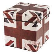 Skládací sedací box s potiskem Great Britain