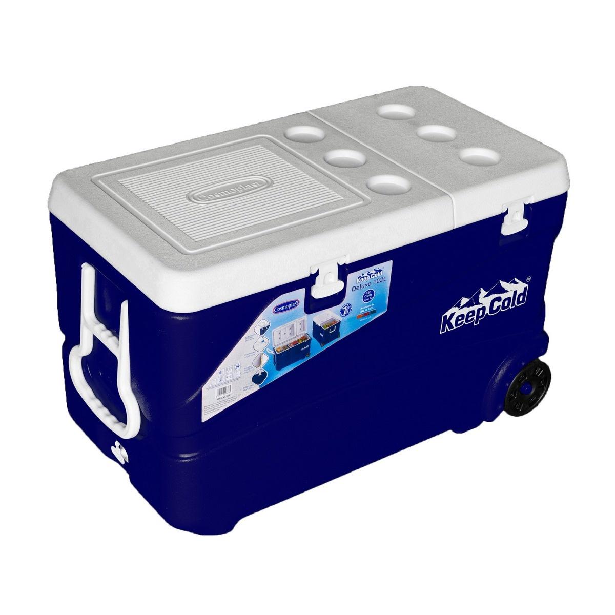 Cosmoplast Chladicí box s kolečky Keep Cold DeLuxe
