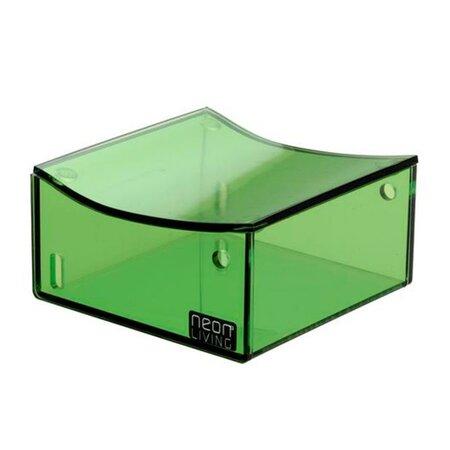 Úložný box Dom Clara 9,5 x 9,5 cm, zelený