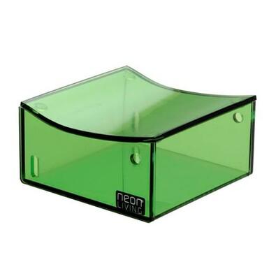 Úložný box Dům Clara 5 cm, zelený
