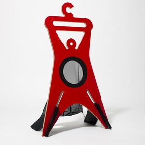 Němý sluha TONDA 94,9 cm, červený