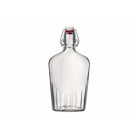 Bormioli Rocco Sklenená fľaša s clip uzáverom Fiaschetta, 500 ml