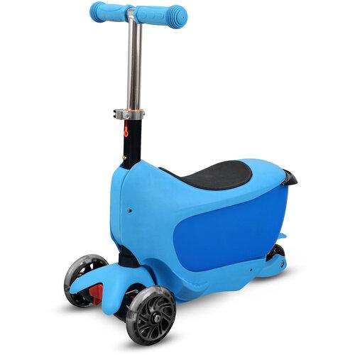 Buddy Toys BPC 4310 Kolobežka Taman 2v1, modrá
