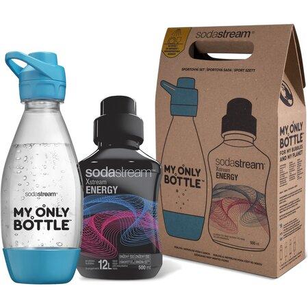 SodaStream sportpalack szett 0,6 l + Szörp Energy