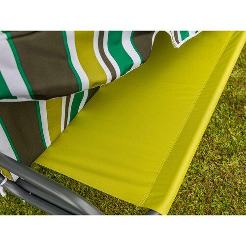 Happy Green Zahradní houpačka Panama Spring Lines, 110 x 170 x 153 cm