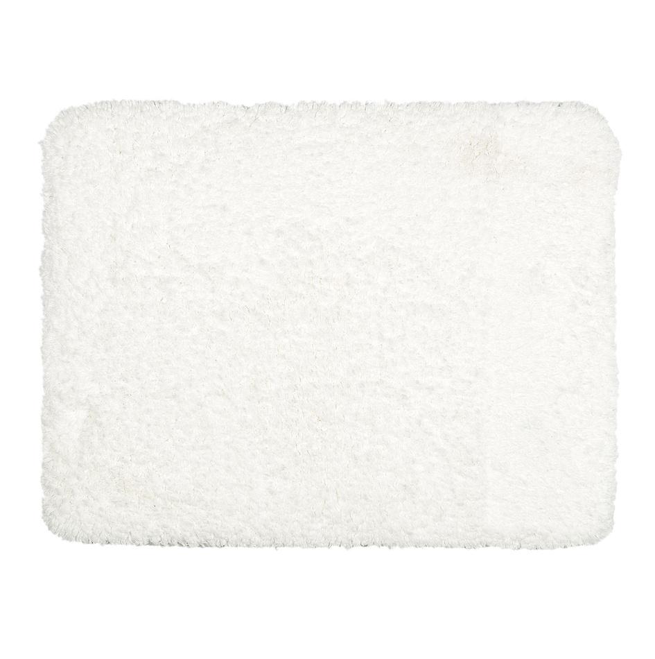 BO-MA Dywanik łazienkowy Lucas biały, 50 x 40 cm