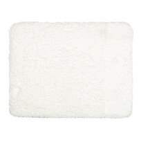 Koupelnová předložka Lucas bílá, 50 x 40 cm