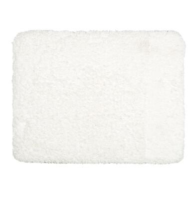 Koupelnová předložka Lucas bílá, 50 x 80 cm