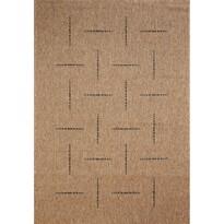 Kusový koberec Floorlux coffee/black 20008, 160 x