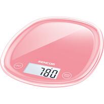 Sencor SKS 34RD kuchyňská váha, červenorůžová