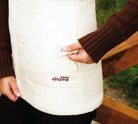 Prošívaná vesta M béžová
