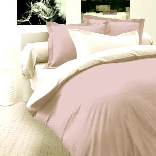 Kvalitex Saténové povlečení Luxury Collection světle fialová / bílá