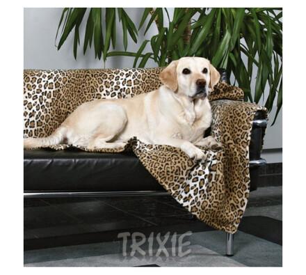 Fleecová deka leopard TRIXIE, 150 x 100 cm