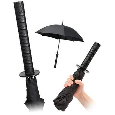 Deštník samuraj černý