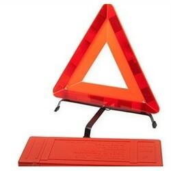 Výstražný trojúhelník s plastovým pouzdrem