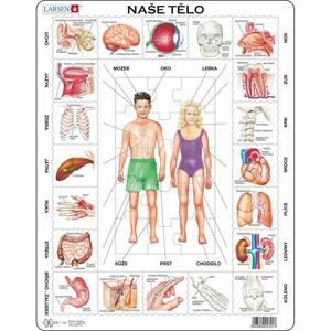 Larsen Puzzle Naše tělo, 35 dílků