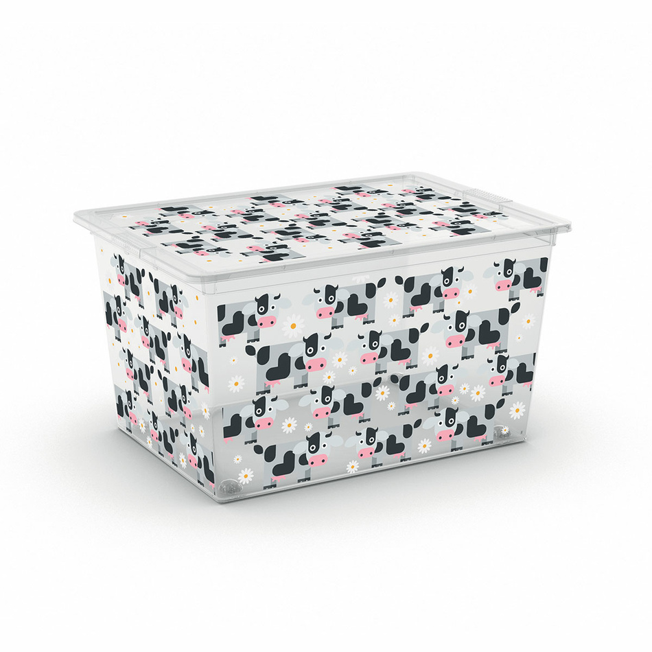 Úložný box Kis C-Box Cute Animals XL 50 l