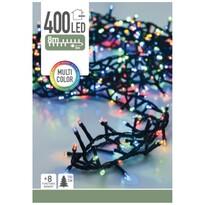 Koopman Svetelná vianočná reťaz Twinkle farebná, 400 LED