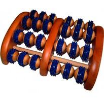 Akupresurní masážní roler na chodidla s hroty, 23 x 18 cm