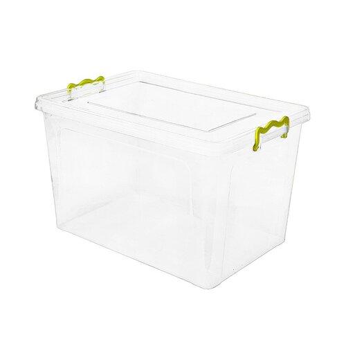 Aldotrade Plastový úložný box 15,5 l, bílá