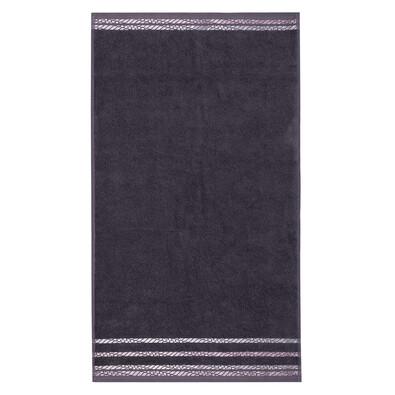 4Home Ručník New Bianna šedá, 50 x 90 cm