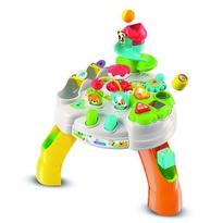 Clementoni Baby Játszóasztal kockákkal  és kisállatokkal