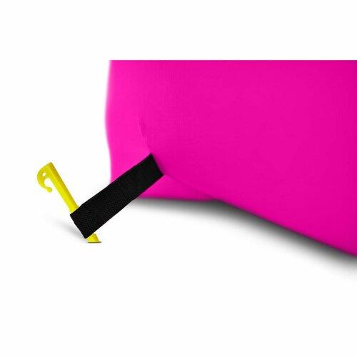 BANANA BAG felfújható ülőzsák rózsaszín
