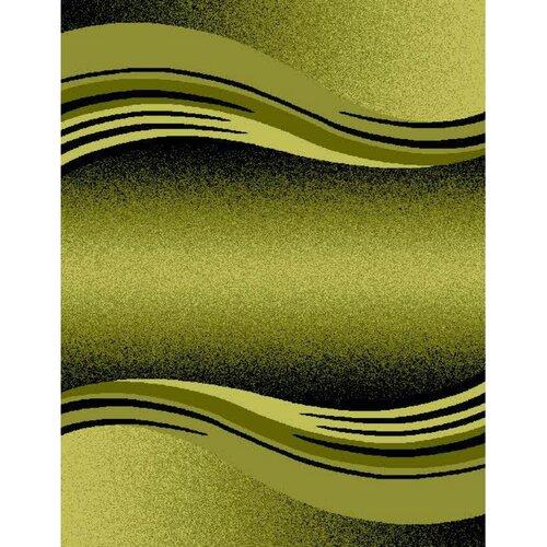 Spoltex Kusový koberec Enigma 9358 Green, 120 x 170 cm