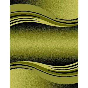 Spoltex Kusový koberec Enigma 9358 Green, 80 x 150 cm