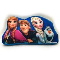Tvarovaný polštářek Ledové království Frozen, 34 x 30 cm
