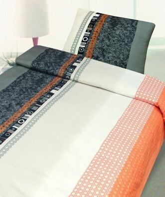 Bavlněné povlečení Mix béžová, 140 x 200 cm, 70 x 90 cm
