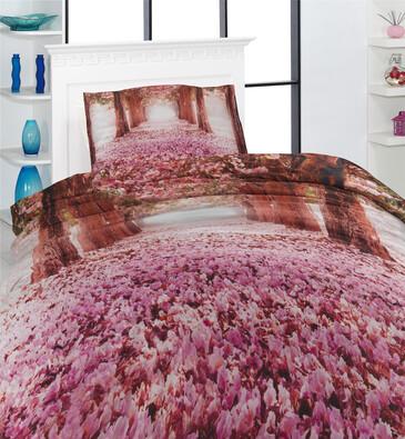 Povlečení Love The Way 3D, 140 x 200 cm, 70 x 90 cm