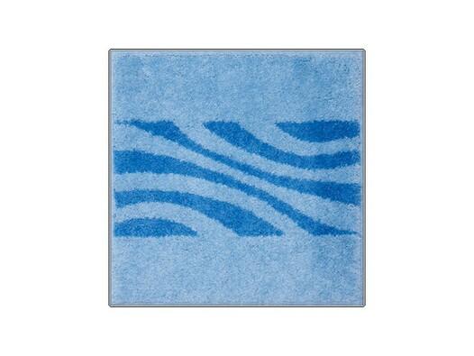 Koupelnová předložka THUNI modrá, 55 x 55 cm