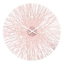 Koziol Nástěnné hodiny Silk růžová, pr. 45 cm