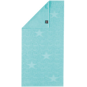 Cawö Frottier ručník Star modrá, 50 x 100 cm